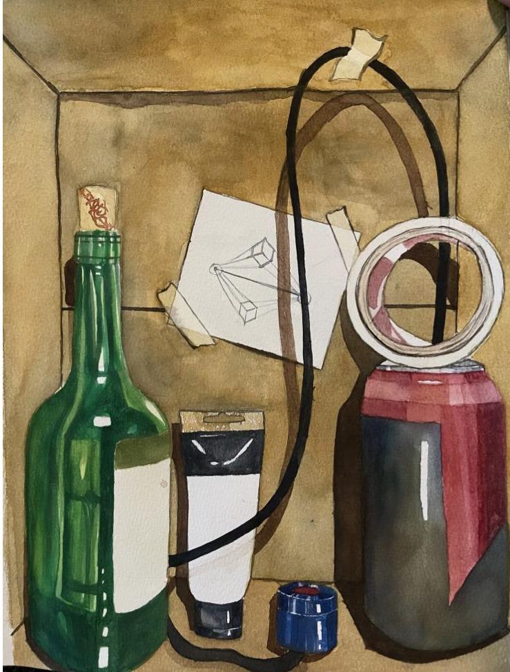 Trompe L'oeil Still Life