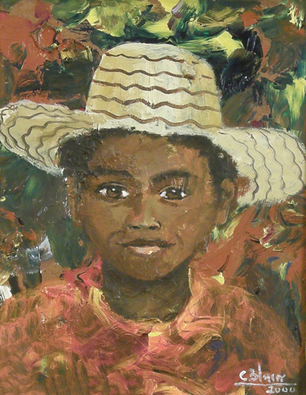 Untitled (Portrait of a Boy)<br /> by Carel Blain