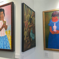 View of the Ti Moun Ayiti exhibit at the Haitian American Museum of Chicago